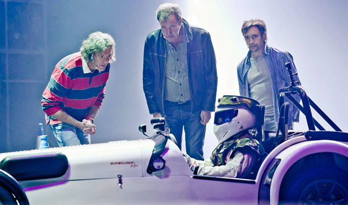 Top Gear will go on the biggest UK-wide tour in 2015