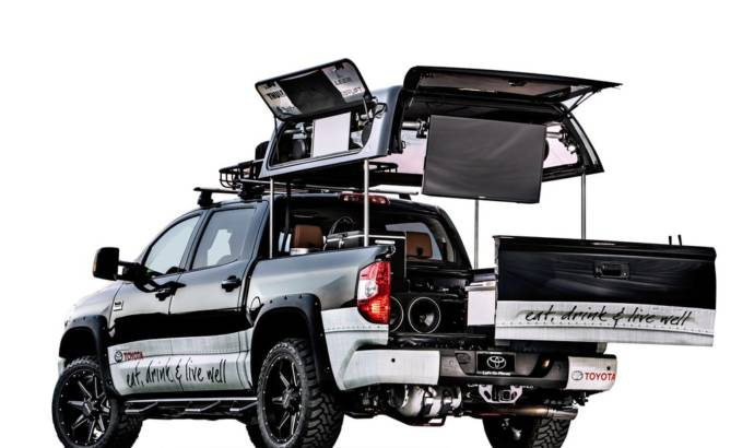 Toyota Tundra Tim Love prepared for SEMA