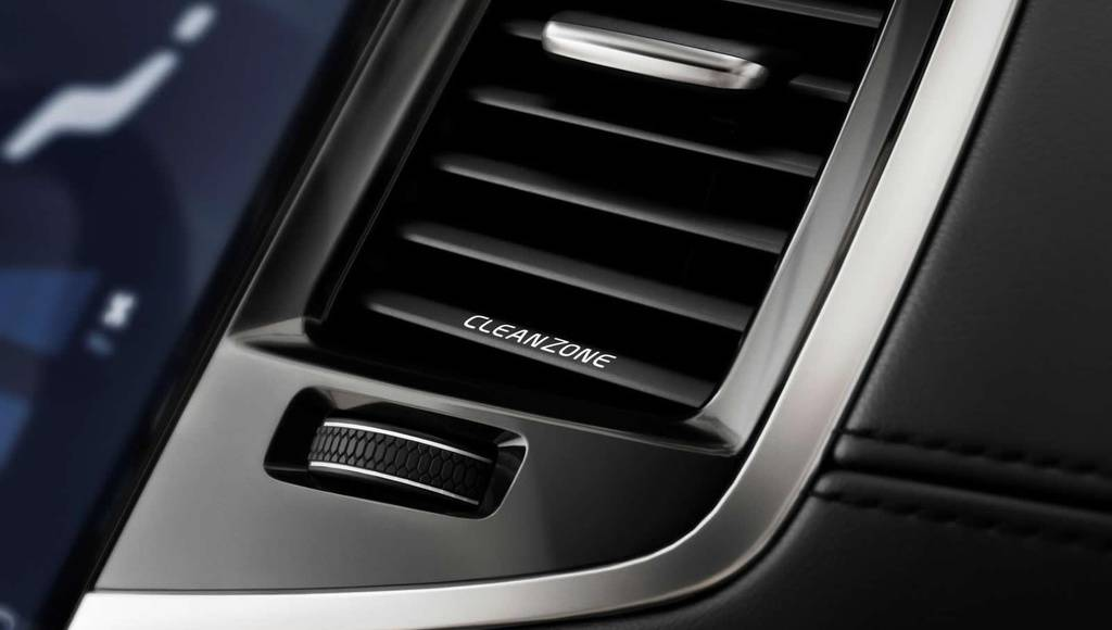 Volvo XC90 CleanZone system detailed