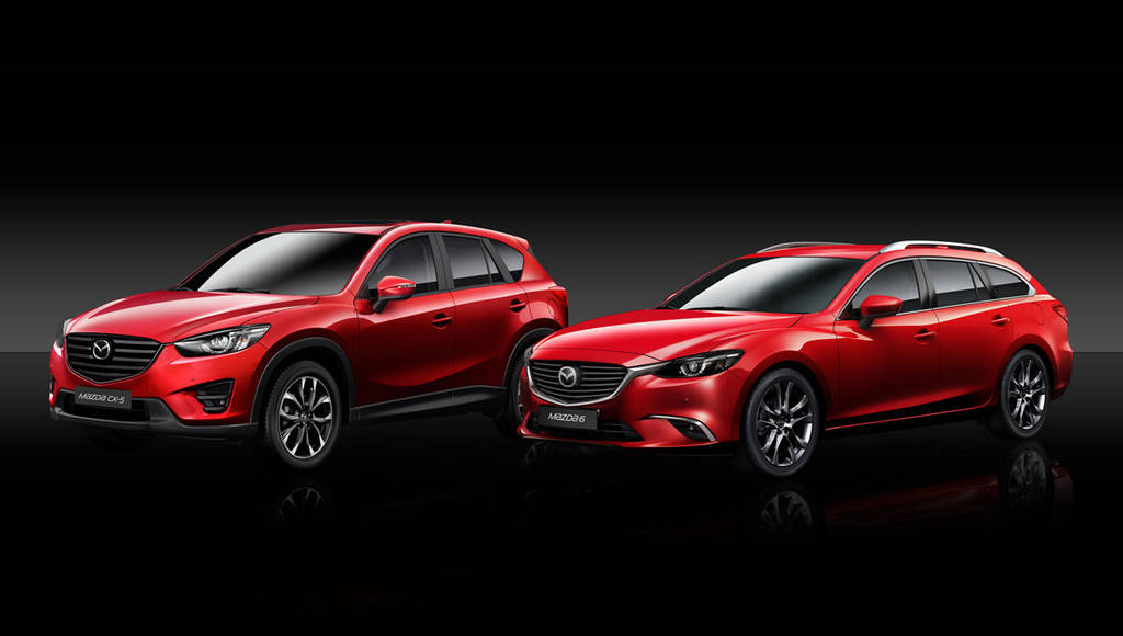 2015 Mazda6 and Mazda CX-5 ready for European debut