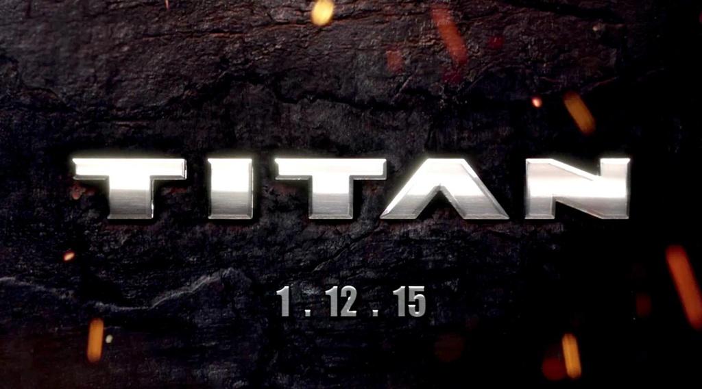 2016 Nissan Titan teased ahead of NAIAS reveal