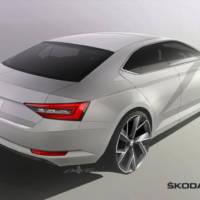 2015 Skoda Superb teased again
