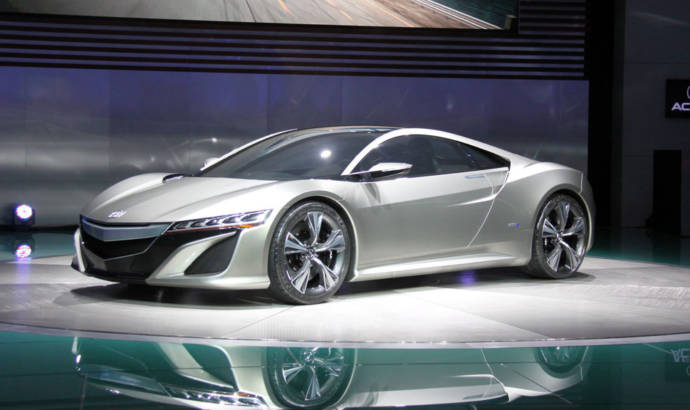 Acura NSX to be unveiled during 2015 NAIAS Detroit