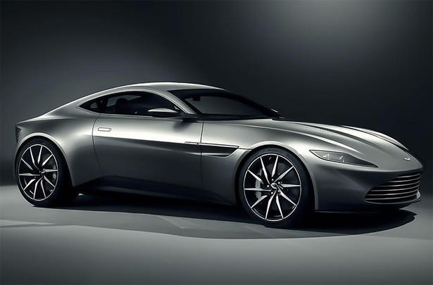 Aston Martin DB10 is the new James Bond car