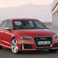 Audi RS3 Sportback first images and details