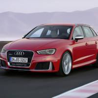 Audi RS3 Sportback prices revealed