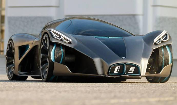 BMW i9 rendered in Sci-Fi clothes