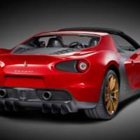 First Ferrari Sergio revealed