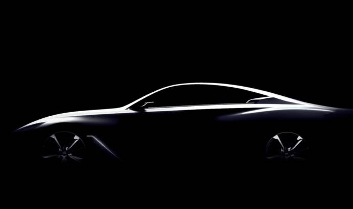 Infiniti Q60 Concept first teaser photo ahead of NAIAS debut