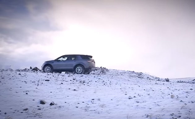 Land Rover Discovery Sport off-road test