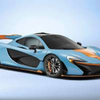 McLaren P1 customized for Miles Nadal