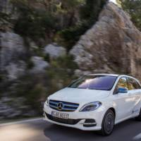 Mercedes B Class Electric Drive UK prices announced