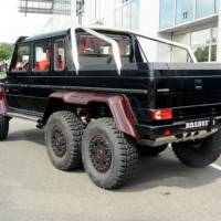 Mercedes-Benz G63 AMG 6x6 modified by Brabus