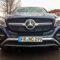 Mercedes-Benz GLE Coupe - Pictures with the production model