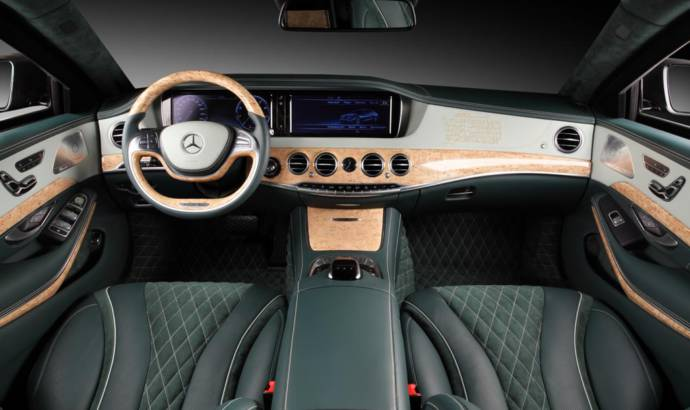Mercedes-Benz S600 Guard modified by TopCar