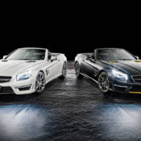 Mercedes-Benz SL63 AMG World Championship 2014 Collectors Edition by Hamilton and Rosberg