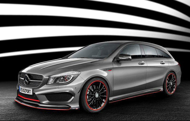 Mercedes CLA Shooting Brake tuned by RevoZport