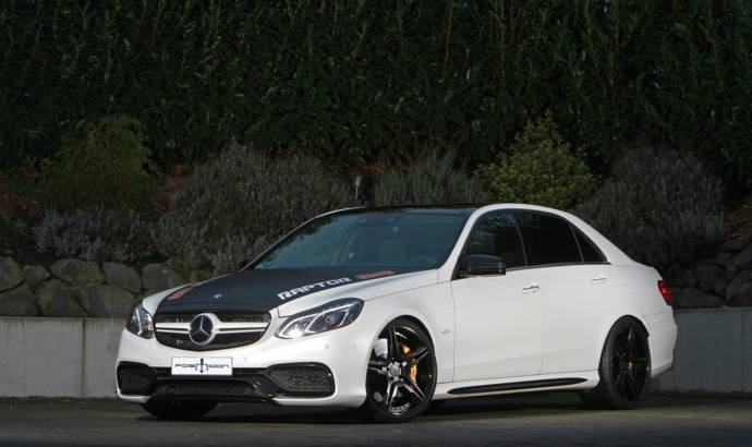 Mercedes E63 AMG tweaked by Posaidon Tuning to 850 hp