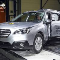 New Subaru Outback earns five star rating in EuroNCAP