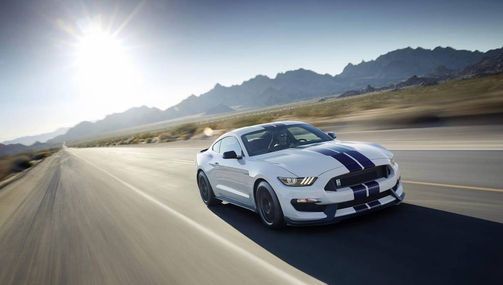 Shelby GT350 Mustang tested in Ford Climate Chamber