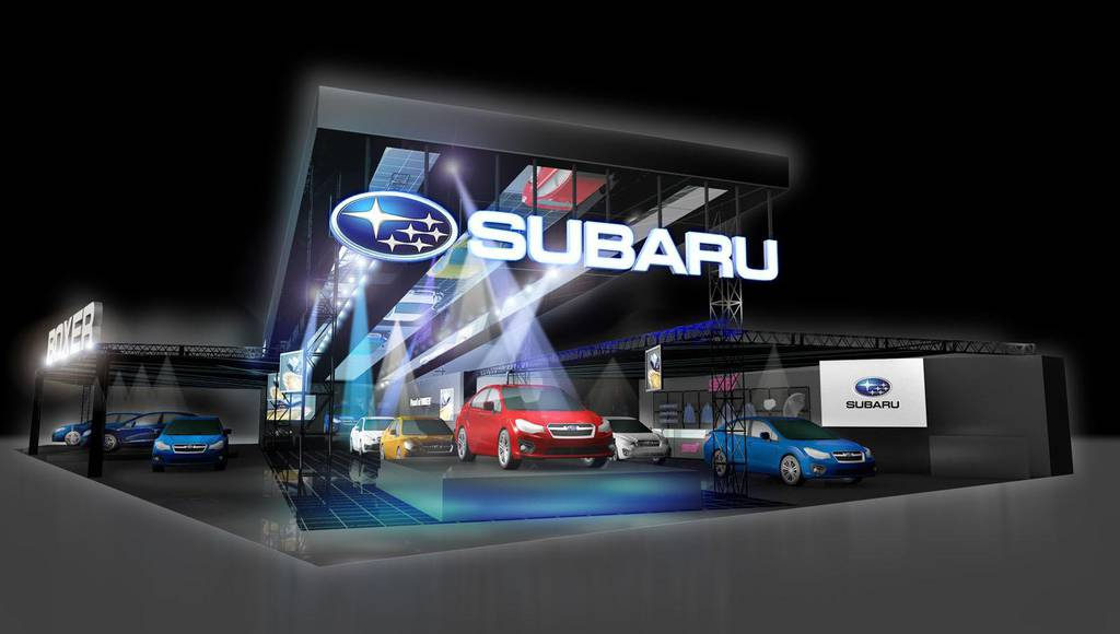 Subaru announces three concepts for 2015 Tokyo Motor Show
