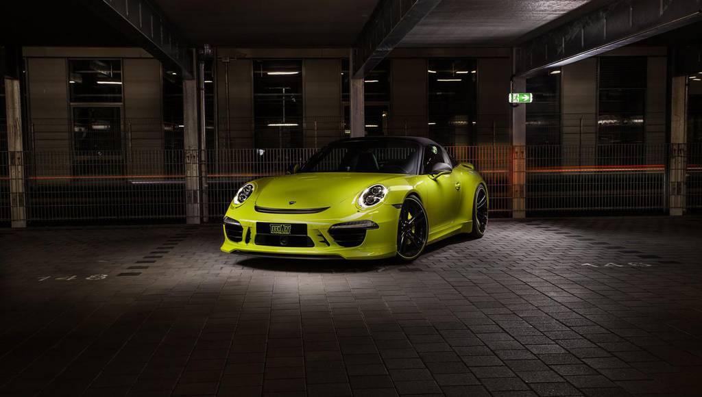 Techart tunes the new Porsche 911 Targa