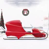 Santa's new sleigh by Honda