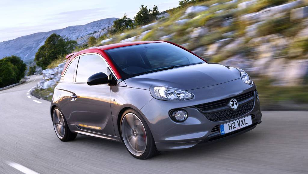 Vauxhall Adam Grand Slam available in the UK