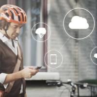 Volvo cyclist anti-collision warning system detailed