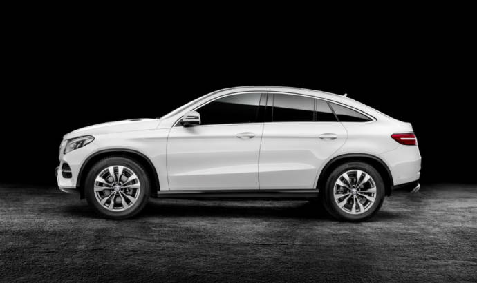 2015 Mercedes-Benz GLE Coupe - Official pictures and details