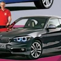 2015 BMW 1-Series facelift teaser video