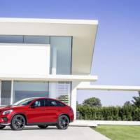 2015 Mercedes-Benz GLE 450 AMG Coupe unveiled in Detroit