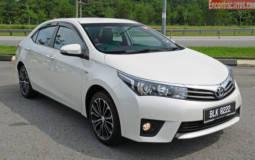 2015 Toyota Corolla Review