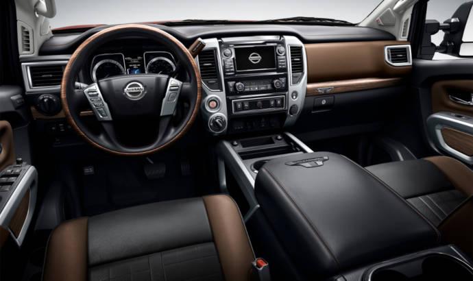 2016 Nissan Titan XD diesel revealed in Detroit