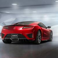 Acura NSX production version launched