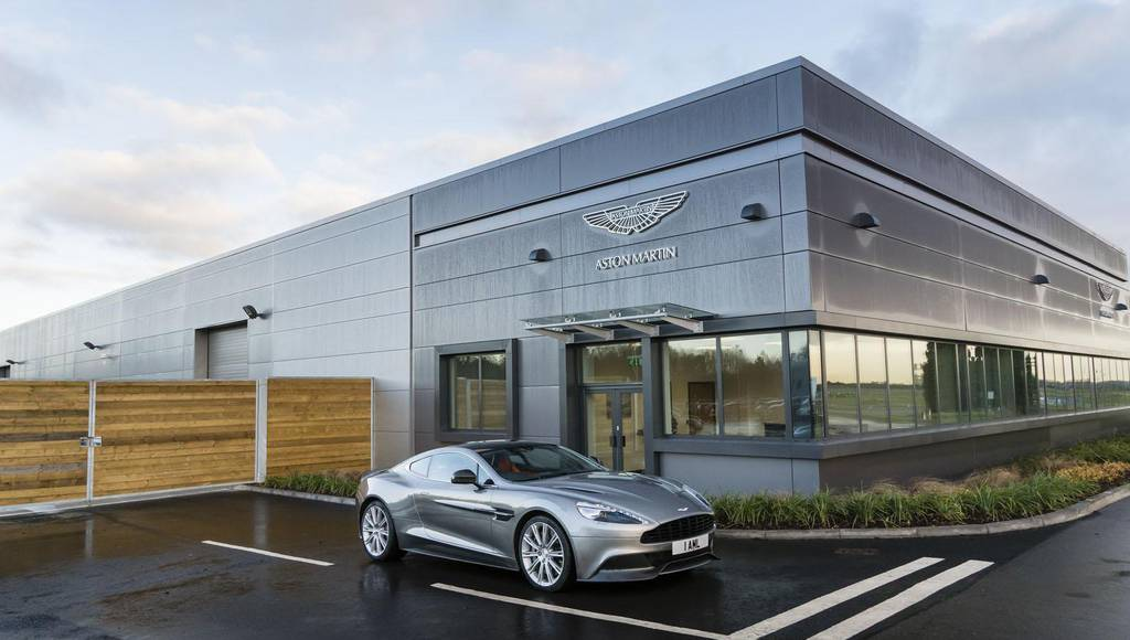 Aston Martin opens new prototype center in UK