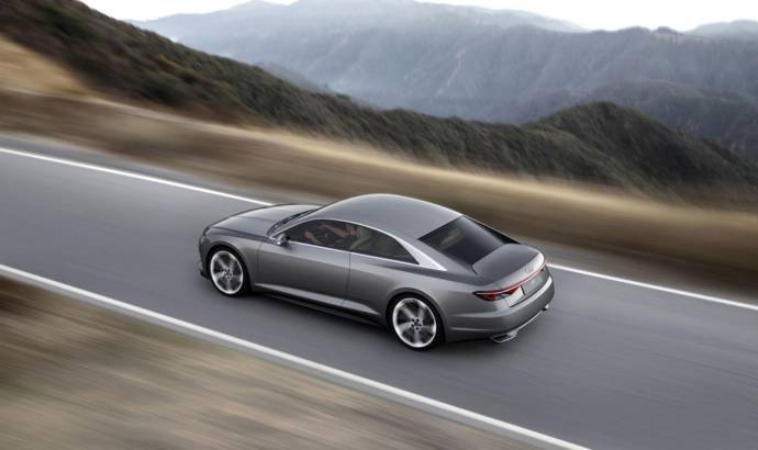 Audi Prologue Piloted Driving Car unveiled at CES 2015