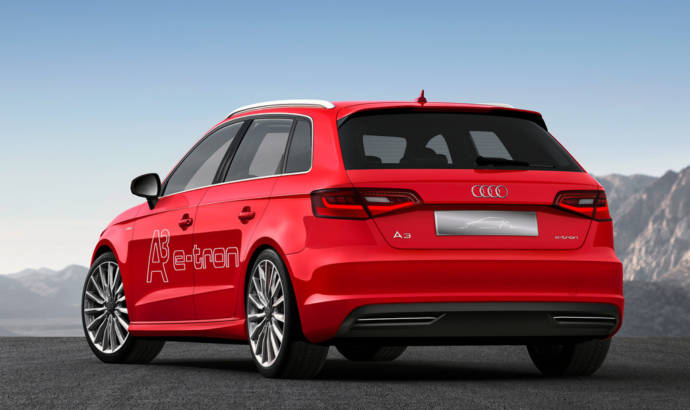 Audi promotes its new self-parking function for A3 e-tron