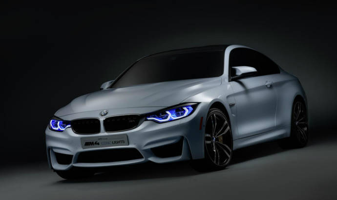 BMW M4 Concept Iconic Lights introduces new laser lighting