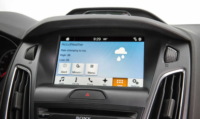 Ford AccuWeather and Life360 apps announced for CES 2015