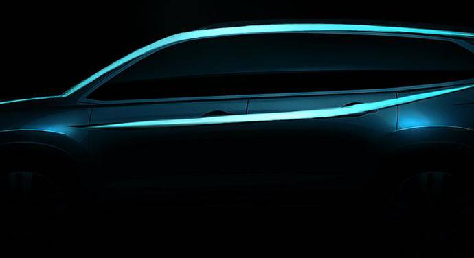 Honda Pilot to be unveiled in Chicago Motor Show