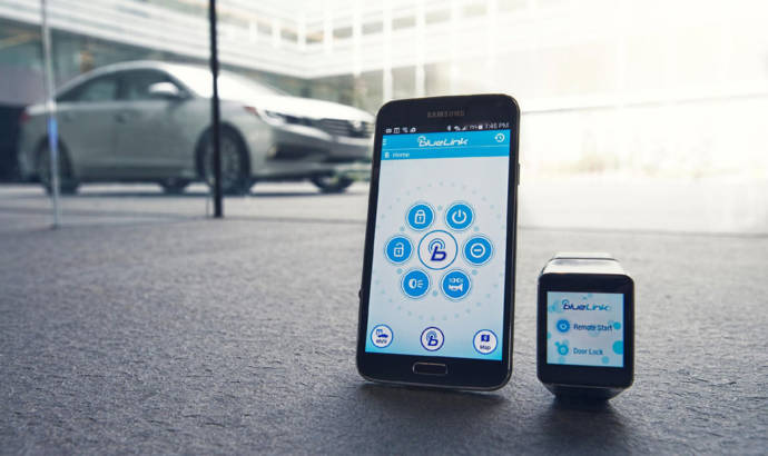Hyundai will introduce its first app for a smartwatch