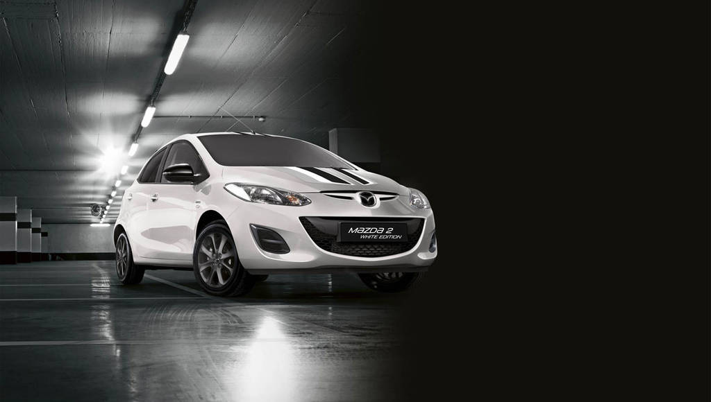 Mazda2 Black and White Editions introduced