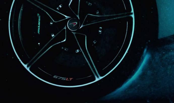 McLaren 675LT - First video teaser