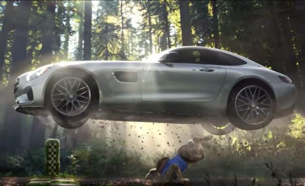 Mercedes-Benz Super Bowl XLIX commercial