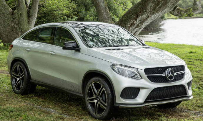 Mercedes GLE63 AMG Coupe teaser video