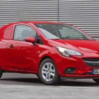 Opel Corsavan introduced in Bruxelles Motor Show