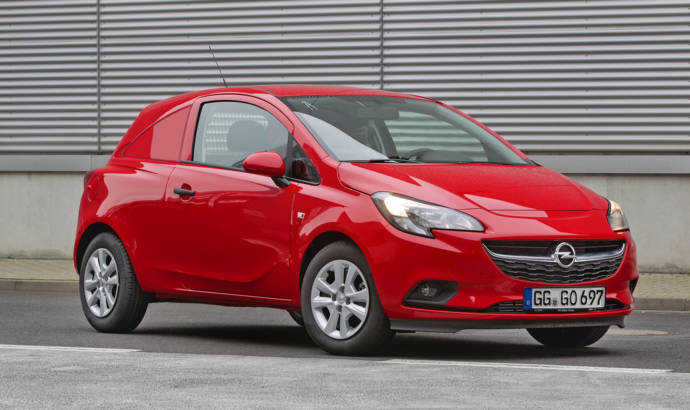 Opel Corsavan introduced in Bruxelles Motor Show