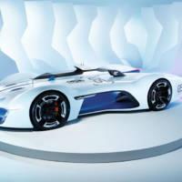 Renault Alpine Vision Gran Turismo Concept unveiled