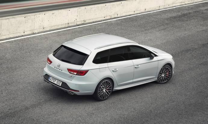 Seat Leon ST Cupra introduced ahead of Geneva debut